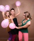 Balloon fight Stock Image