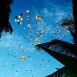 Balloon-filled Sky Royalty Free Stock Image