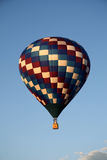 Balloon in flight royalty free stock photography