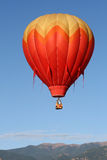 Balloon in flight Stock Photography