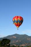 Balloon in flight Royalty Free Stock Photos