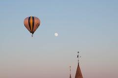 Balloon flight Royalty Free Stock Photography