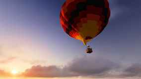 Balloon flight Royalty Free Stock Photography