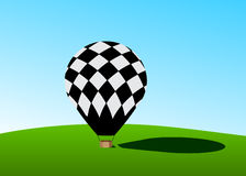 Balloon for flights. Royalty Free Stock Photography