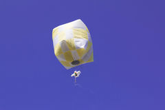 Balloon floating Stock Photography