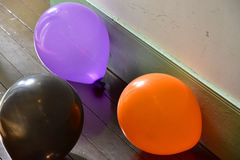 Balloon of the floor. Scenery of the colorful balloon of the floor Royalty Free Stock Image