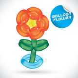 Balloon Flower Illustration Stock Photography