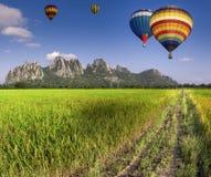 Balloon fly Royalty Free Stock Photos