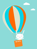 Balloon flying Royalty Free Stock Image