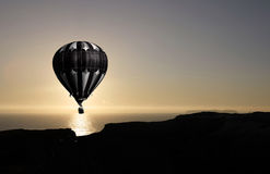 Balloon flying Royalty Free Stock Photography