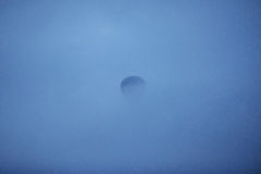 Balloon foggy morning in Cappadocia. TURKEY. blurred images Stock Image