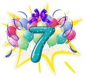 Balloon font series Royalty Free Stock Photo