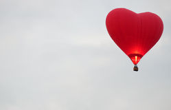 Balloon in the form of heart Royalty Free Stock Photo