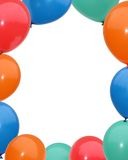 Balloon frame Stock Photo