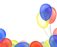 Balloon frame stock photo