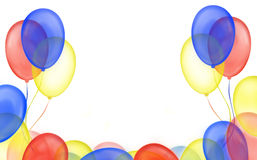 Balloon frame royalty free stock images
