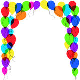 Balloon frame Royalty Free Stock Photos