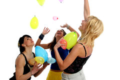 Balloon fun Royalty Free Stock Photos