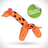 Balloon Giraffe Illustration Royalty Free Stock Photography