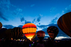 Balloon Glow Royalty Free Stock Images