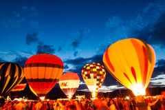 Balloon Glow Royalty Free Stock Photos