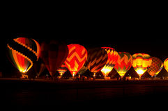 Balloon Glow Royalty Free Stock Photography