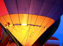 Balloon Glow at St. Louis Royalty Free Stock Photo