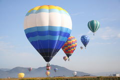 Balloon group Royalty Free Stock Photos