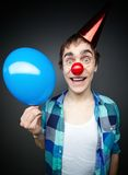 Balloon guy Royalty Free Stock Photography
