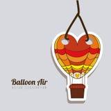 Balloon heart Stock Photos