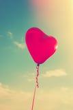 Balloon heart shape Royalty Free Stock Photos