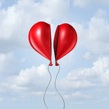 Balloon Heart Together Royalty Free Stock Images