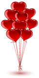 Balloon Hearts Royalty Free Stock Photos