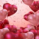 Balloon Hearts. Stock Photo
