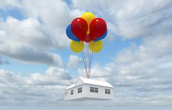 Balloon House Royalty Free Stock Images