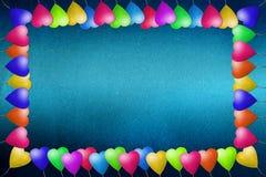 Balloon il mestiere di carta riciclato blocco per grafici Fotografia Stock
