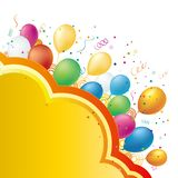 balloon illustration Royalty Free Stock Photo