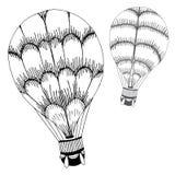Balloon illustration Stock Images