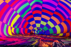 Free Balloon, Inside View Of A Hot Air Balloon Stock Photography - 74264692