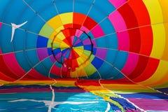 Balloon Interior. Chester County Hot Air Balloon Festival at Plantation Field, Unionville PA stock photography