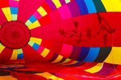 Balloon Interior. Chester County Hot Air Balloon Festival at Plantation Field, Unionville PA royalty free stock photos