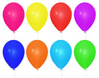 Balloon isolated - colorful Stock Image