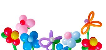 Balloon isolated on white background Royalty Free Stock Photography