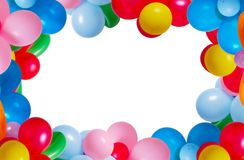 Balloon isolated on white background Royalty Free Stock Images
