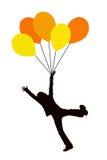 Balloon kid Stock Photography