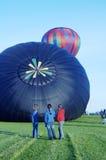 Balloon Launch 1. An early morning hot air balloon launch Royalty Free Stock Photos