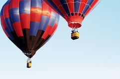 Balloon Launch 5. An early morning hot air balloon launch Royalty Free Stock Photography