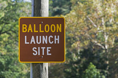 Balloon Launch Site Stock Images