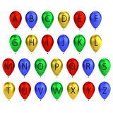 Balloon letters Royalty Free Stock Photos