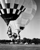 Balloon liftoff in Louisville, Kentucky Royalty Free Stock Image